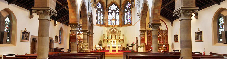 St Joseph and St Francis Xavier Roman Catholic Church, Richmond in Yorkshire